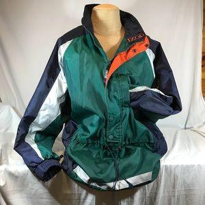Vintage 1990's Izod Sport Nylon Jacket Lined XL